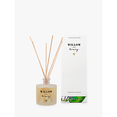 Willow and Honey French Pear and Freesia Diffuser, White, 200ml