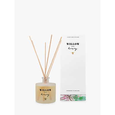 Willow and Honey Himalayan Cedar and Jasmine Diffuser, White, 200ml