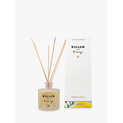 Willow and Honey Eau Verbena Diffuser, White, 200ml