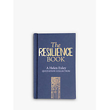 Buy The Resilience Book by Helen Exley Online at johnlewis.com