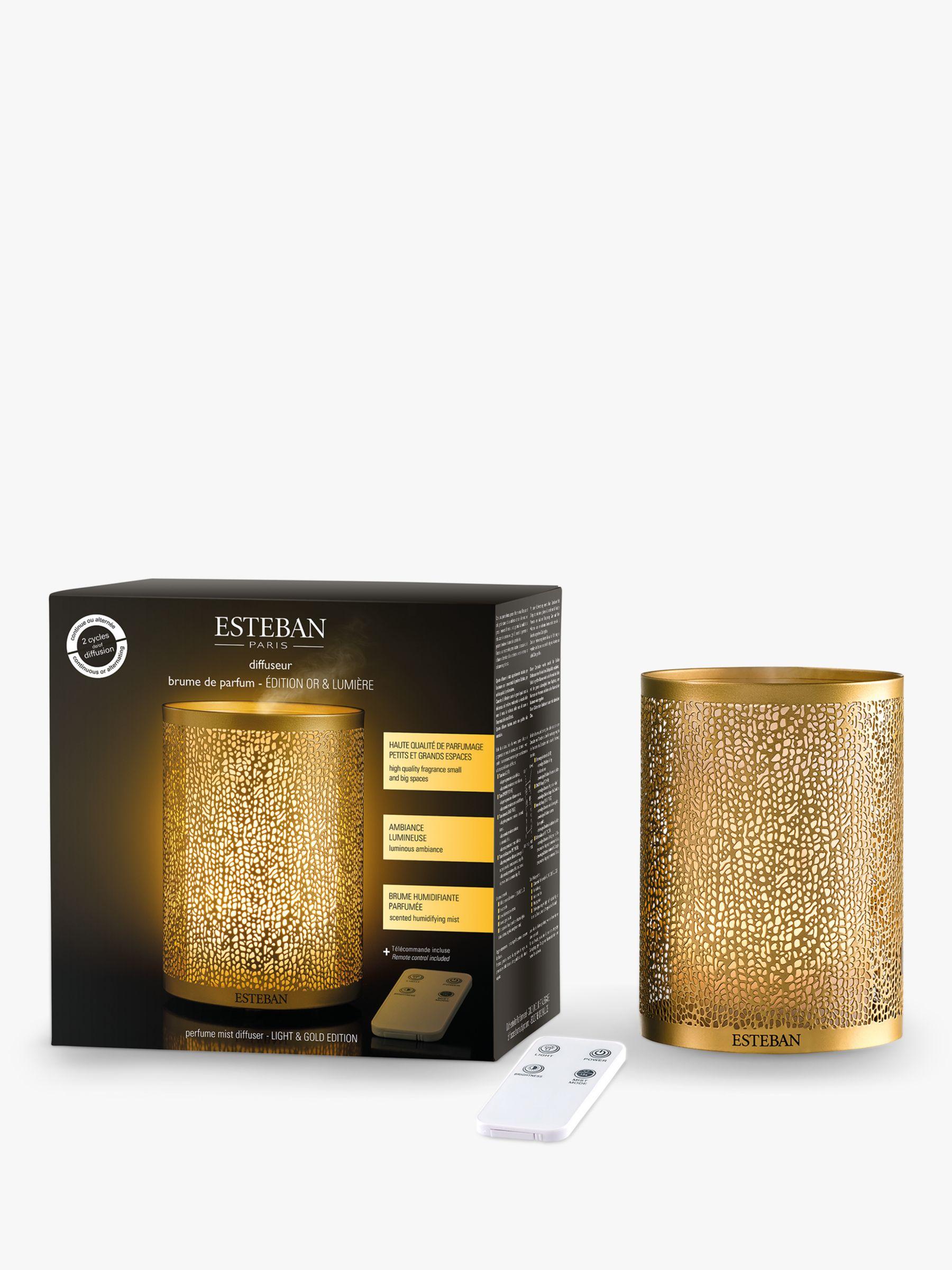 Esteban Esteban Ultrasonic Perfume Mist Diffuser, Gold