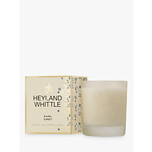 Buy Heyland & Whittle Earl grey Candle Online at johnlewis.com