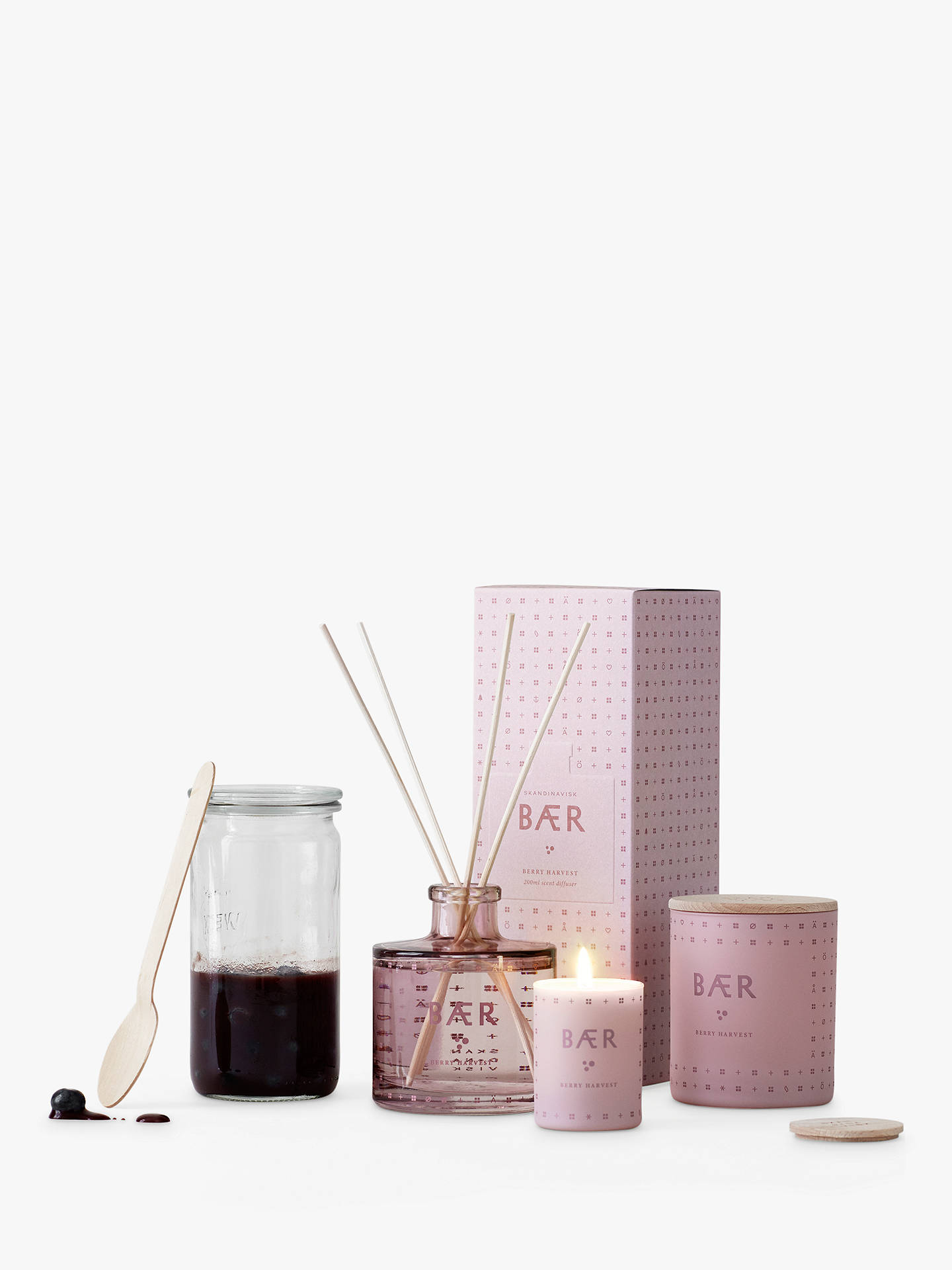 Buy SKANDINAVISK Baer Reed Diffuser, 200ml Online at johnlewis.com