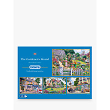 Buy Gibsons The Gardener's Round, Jigsaw Puzzles, 4 x 500 Pieces Online at johnlewis.com