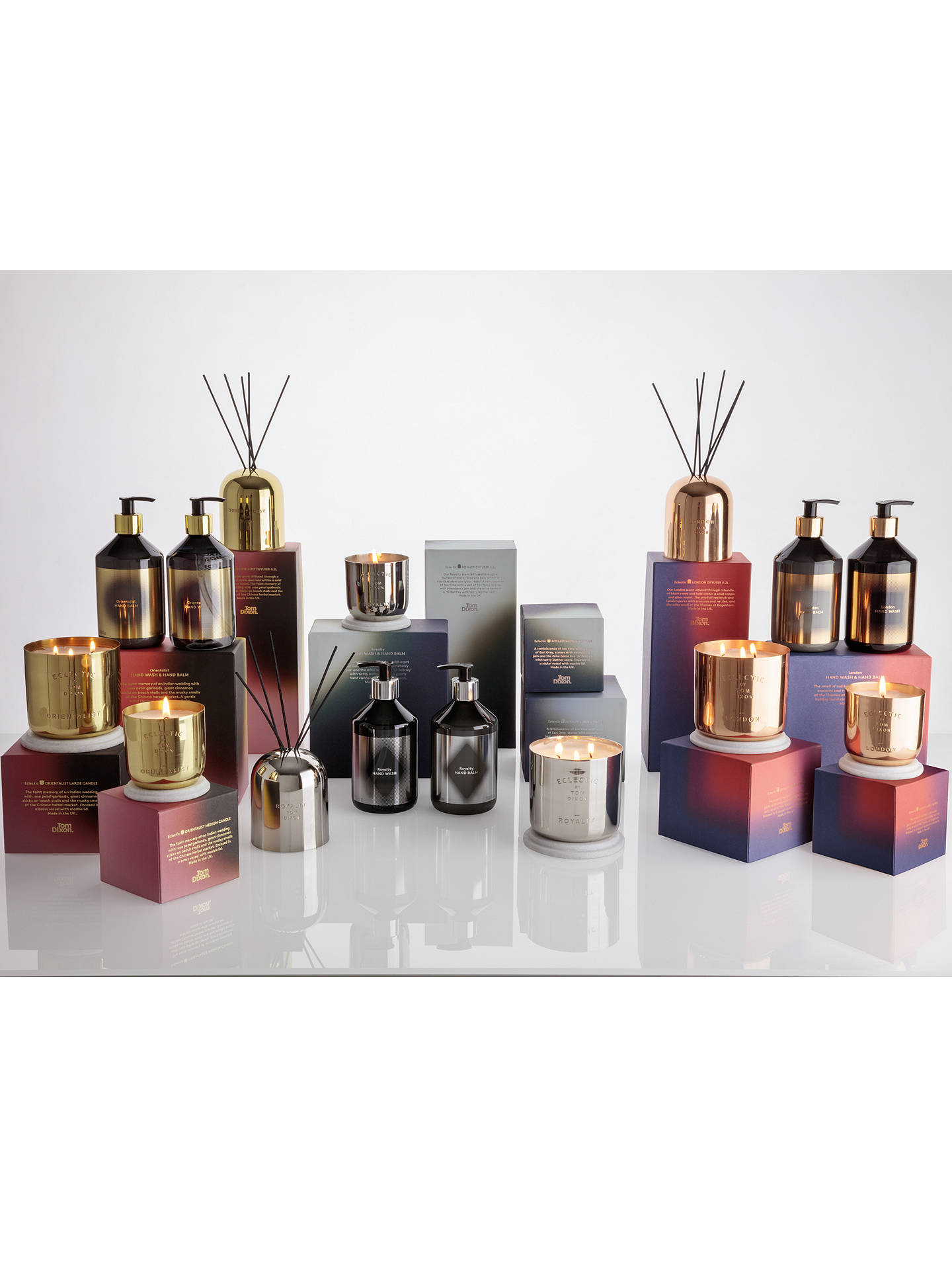 Buy Tom Dixon Mini Scented Candle Gift Set Online at johnlewis.com