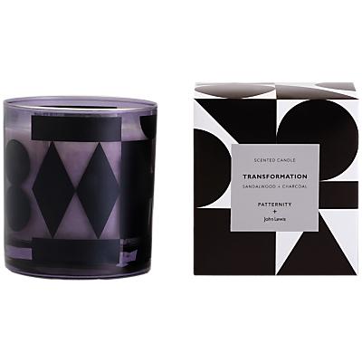 PATTERNITY + John Lewis Transformation Candle, Black