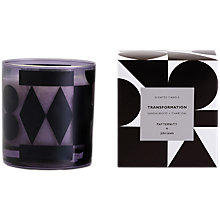 Buy PATTERNITY + John Lewis Transformation Candle, Black Online at johnlewis.com