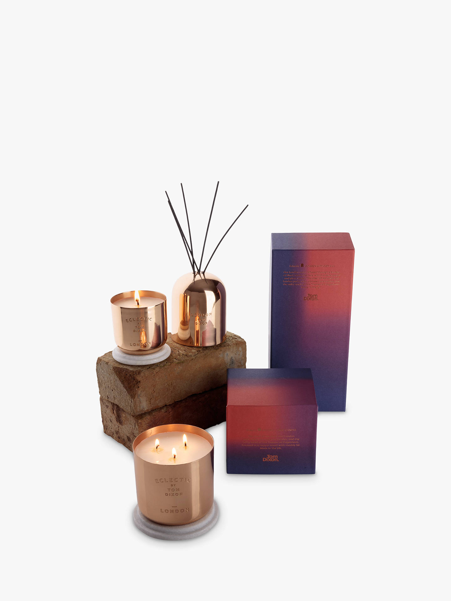 Buy Tom Dixon Scented London Candle, Large Online at johnlewis.com