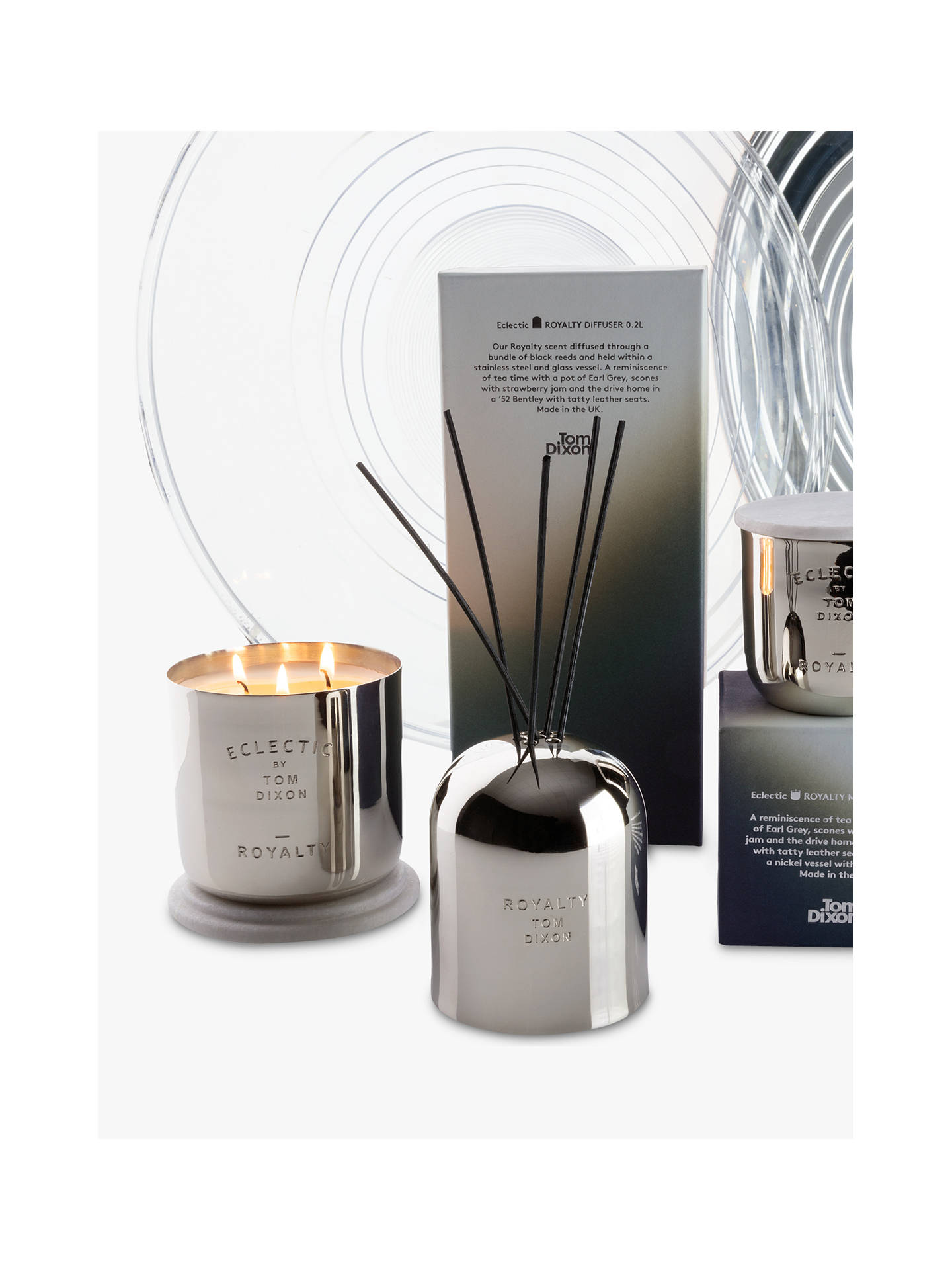 BuyTom Dixon Royalty Scented Candle, Large Online at johnlewis.com