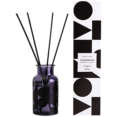 PATTERNITY + John Lewis Transformation Diffuser, Black, 200ml