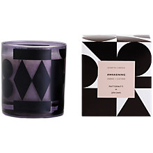 Buy PATTERNITY + John Lewis Awakening Candle, Black Online at johnlewis.com