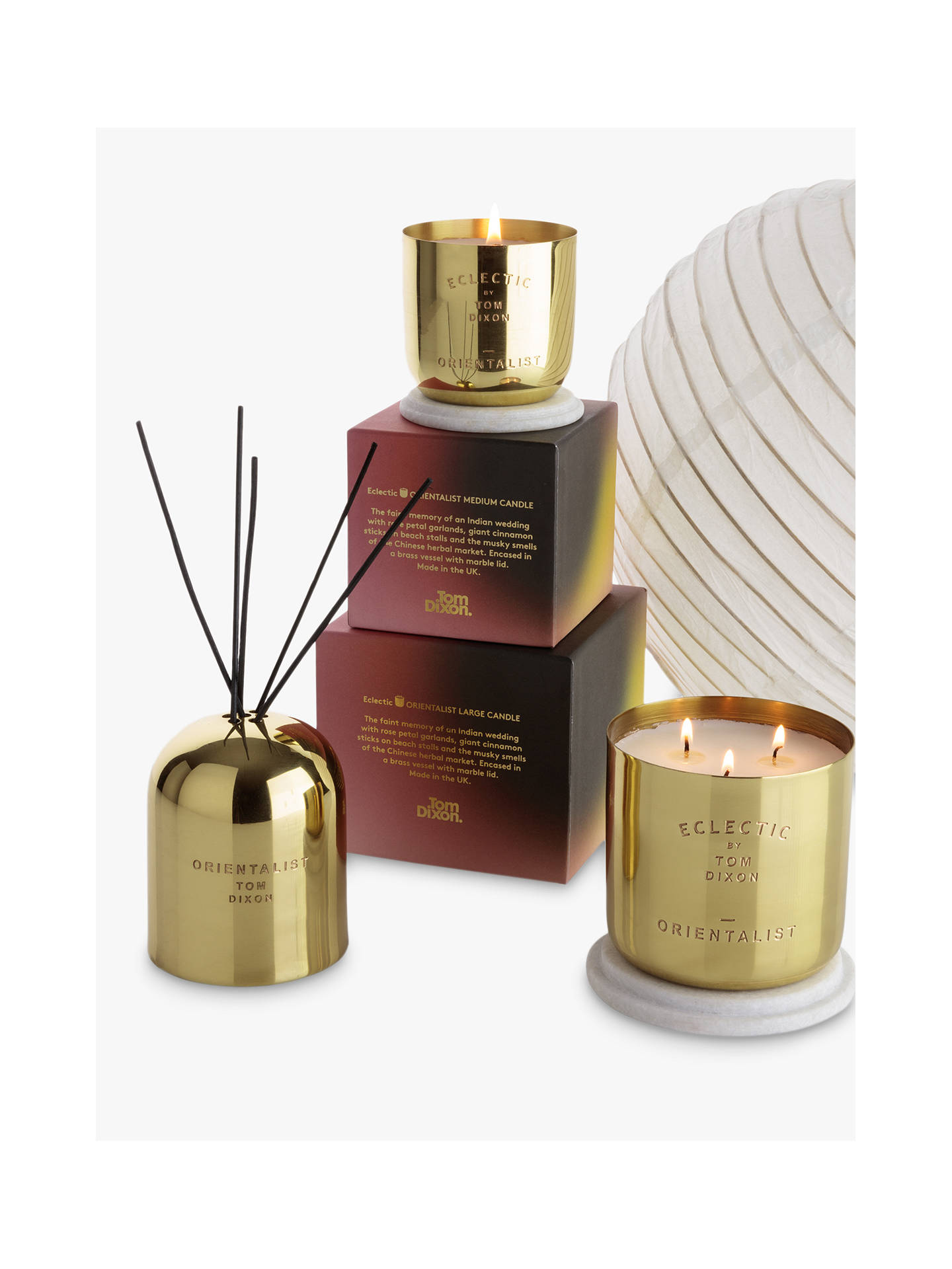 Buy Tom Dixon Oriental Scented Candle, Large Online at johnlewis.com