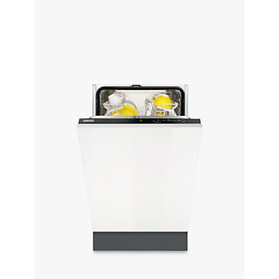 Zanussi ZDV12004FA Integrated Slimline Dishwasher, White