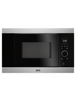 Aeg Mbb1756s M Built In Microwave Stainless Steel