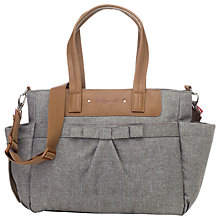 Buy Babymel Cara Bloom Changing Bag, Grey Online at johnlewis.com