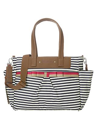 Babymel Cara Edition Changing Bag, Navy Stripe