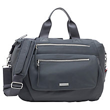 Buy Storksak Seren Convertible Changing Bag, Graphite Online at johnlewis.com