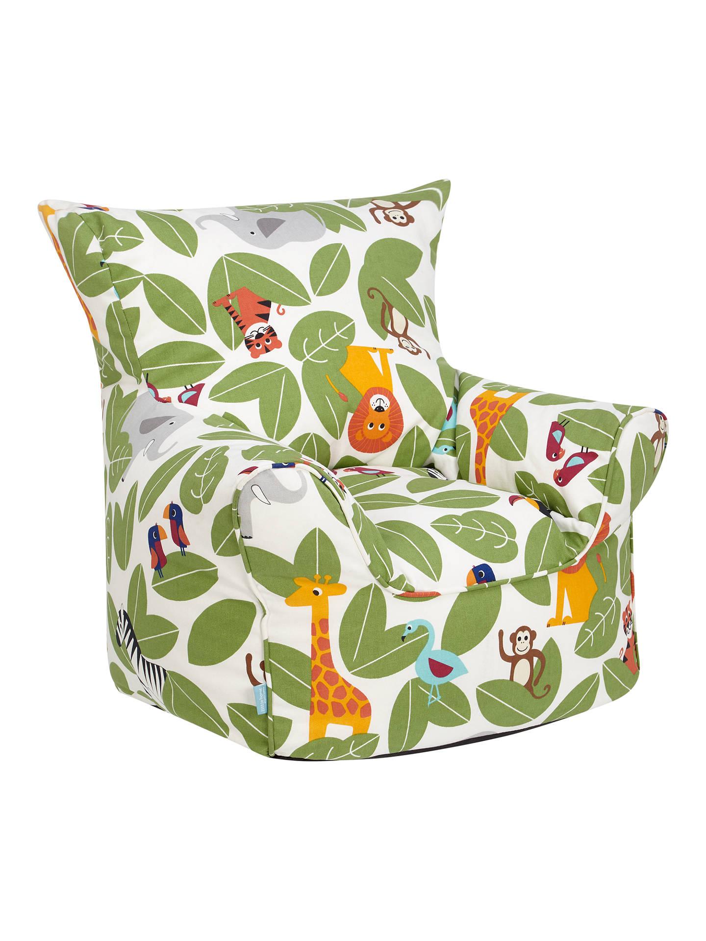 Little Home At John Lewis Animal Fun Bean Bag Chair At