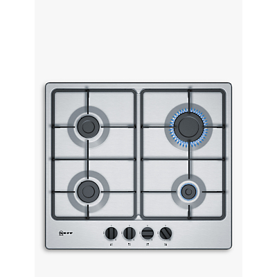 Image of Neff T26BB46N0 Four Burner Gas Hob Stainless Steel