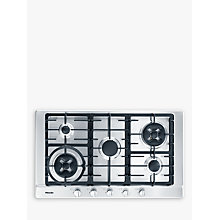 Buy Miele KM2054 Gas Hob, Stainless Steel Online at johnlewis.com
