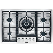 Buy Miele KM2335 Gas Hob, Stainless Steel Online at johnlewis.com