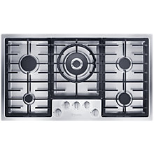 Buy Miele KM2357 Gas Hob, Stainless Steel Online at johnlewis.com
