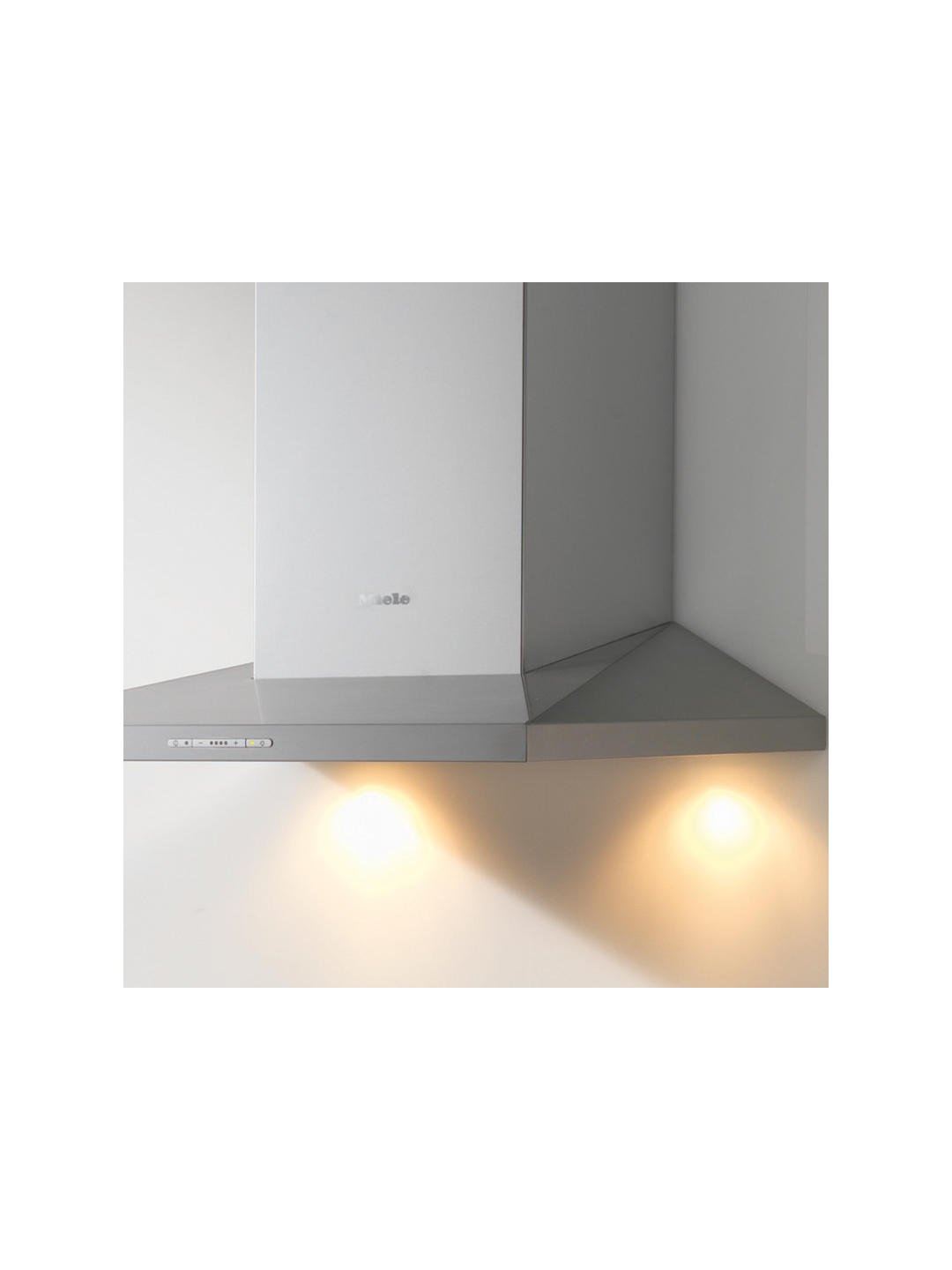 Buy Miele DA396-7 60cm Chimney Cooker Hood, Stainless Steel Online at johnlewis.com