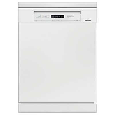 Miele G6630SC Freestanding Dishwasher, White