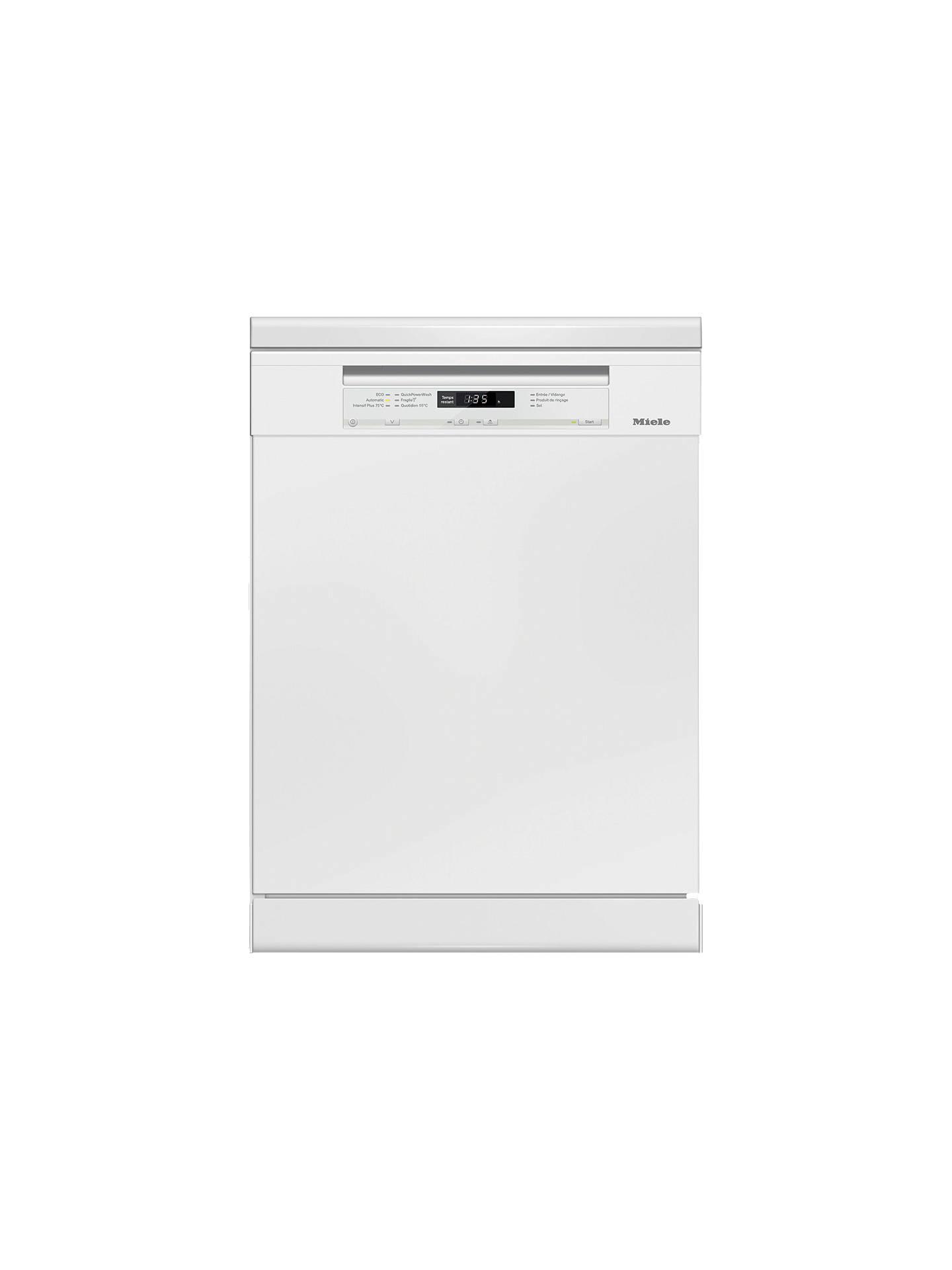 Miele Dishwasher Reviews >> Miele G6630sc Freestanding Dishwasher White