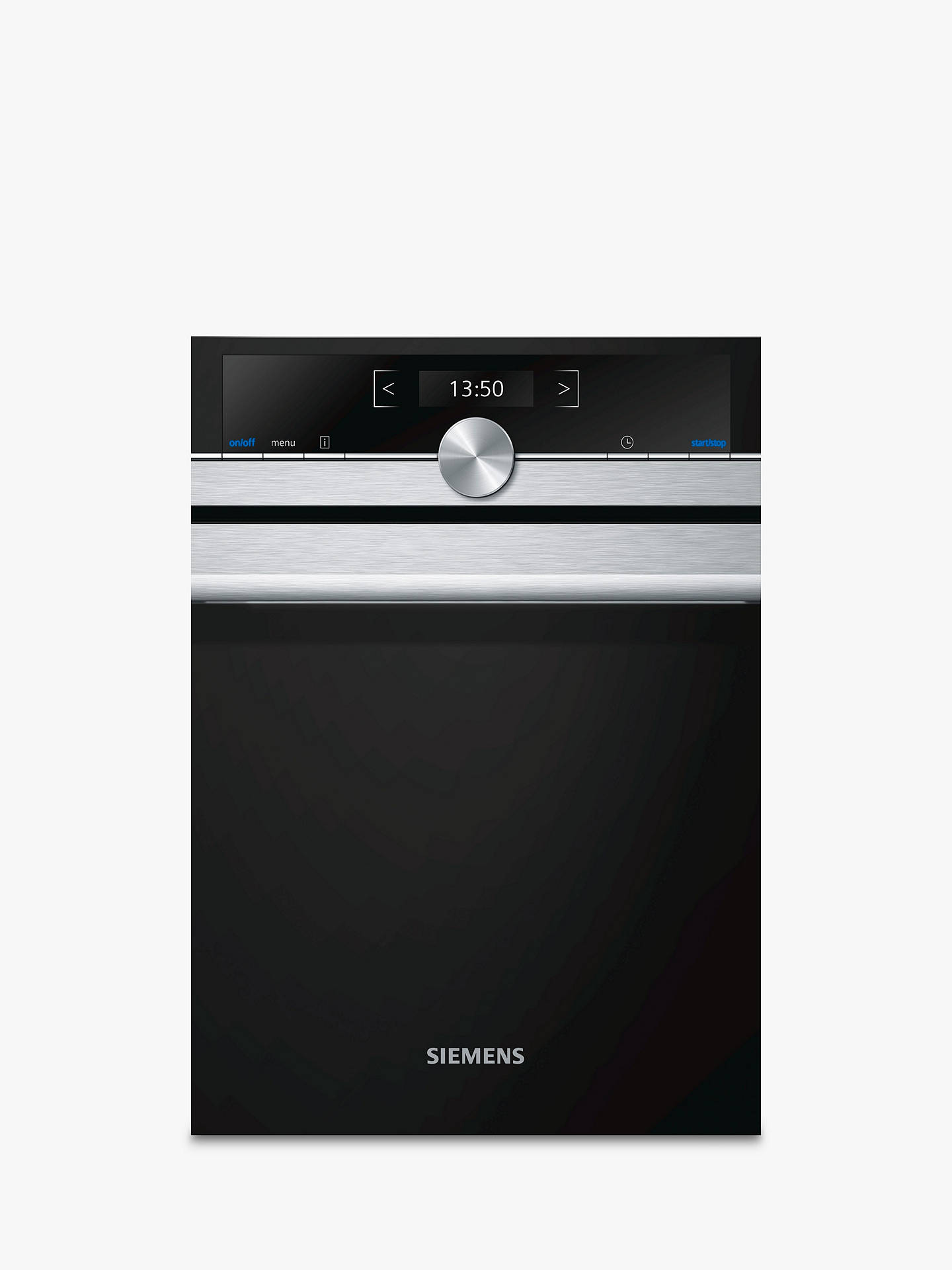 BuySiemens CF634AGS1B Built-in Microwave Oven with Home Connect, Stainless Steel Online at johnlewis.com