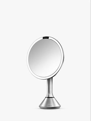 Simplehuman Sensor Mirror With Touch Control Brightness