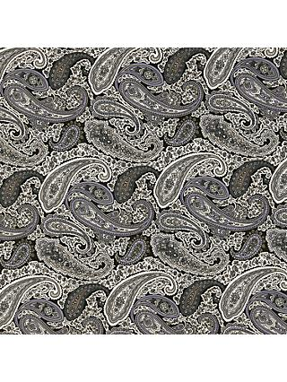 Spendlove Paisley Print Fabric, Black/White