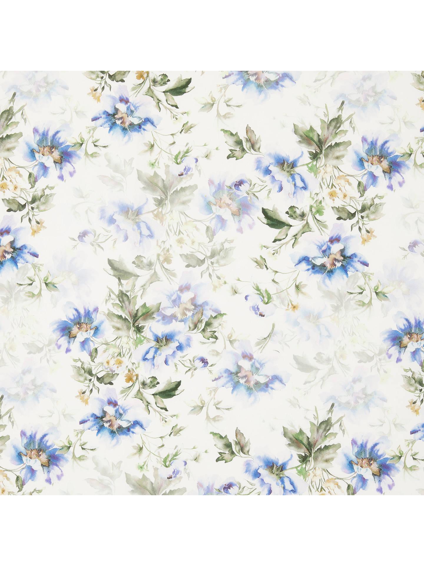 John lewis watercolour flowers print fabric whiteblue at john buyjohn lewis watercolour flowers print fabric whiteblue online at johnlewis mightylinksfo