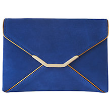 Buy L.K.Bennett Alena Clutch Bag, Inky Blue Online at johnlewis.com