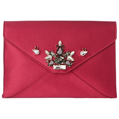 L.K.Bennett Embellished Alena Satin Clutch Bag Review