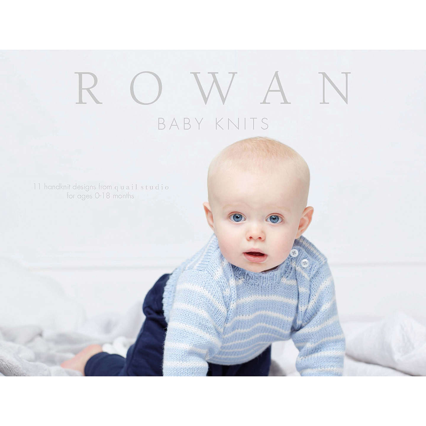 Rowan Baby Knits Knitting Pattern Book at John Lewis