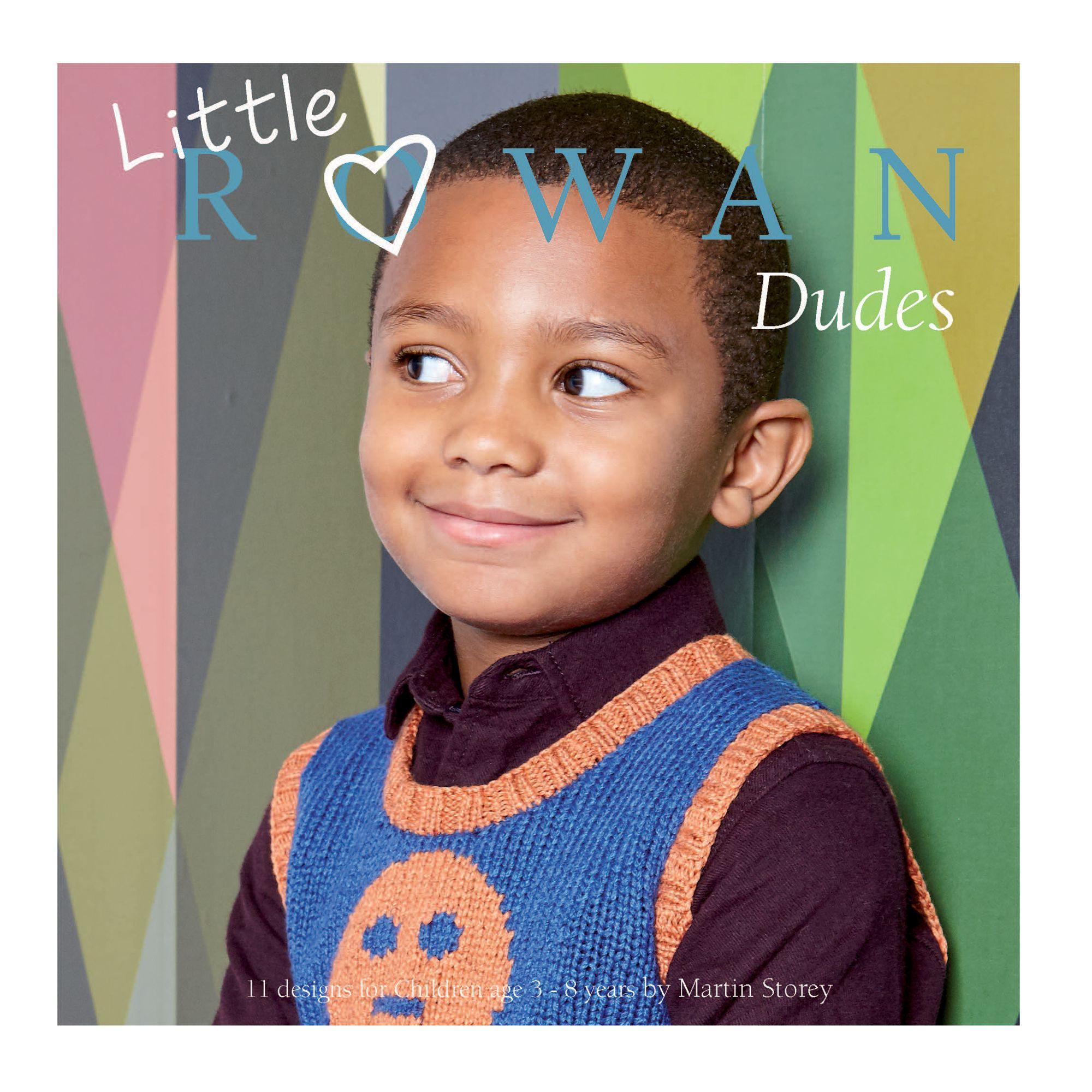 Rowan Little Dudes Collection Knitting Pattern Book by Martin Storey