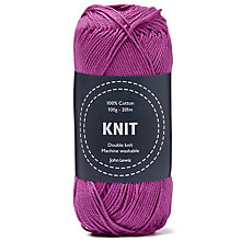 Buy John Lewis Cotton DK Yarn, 100g Online at johnlewis.com