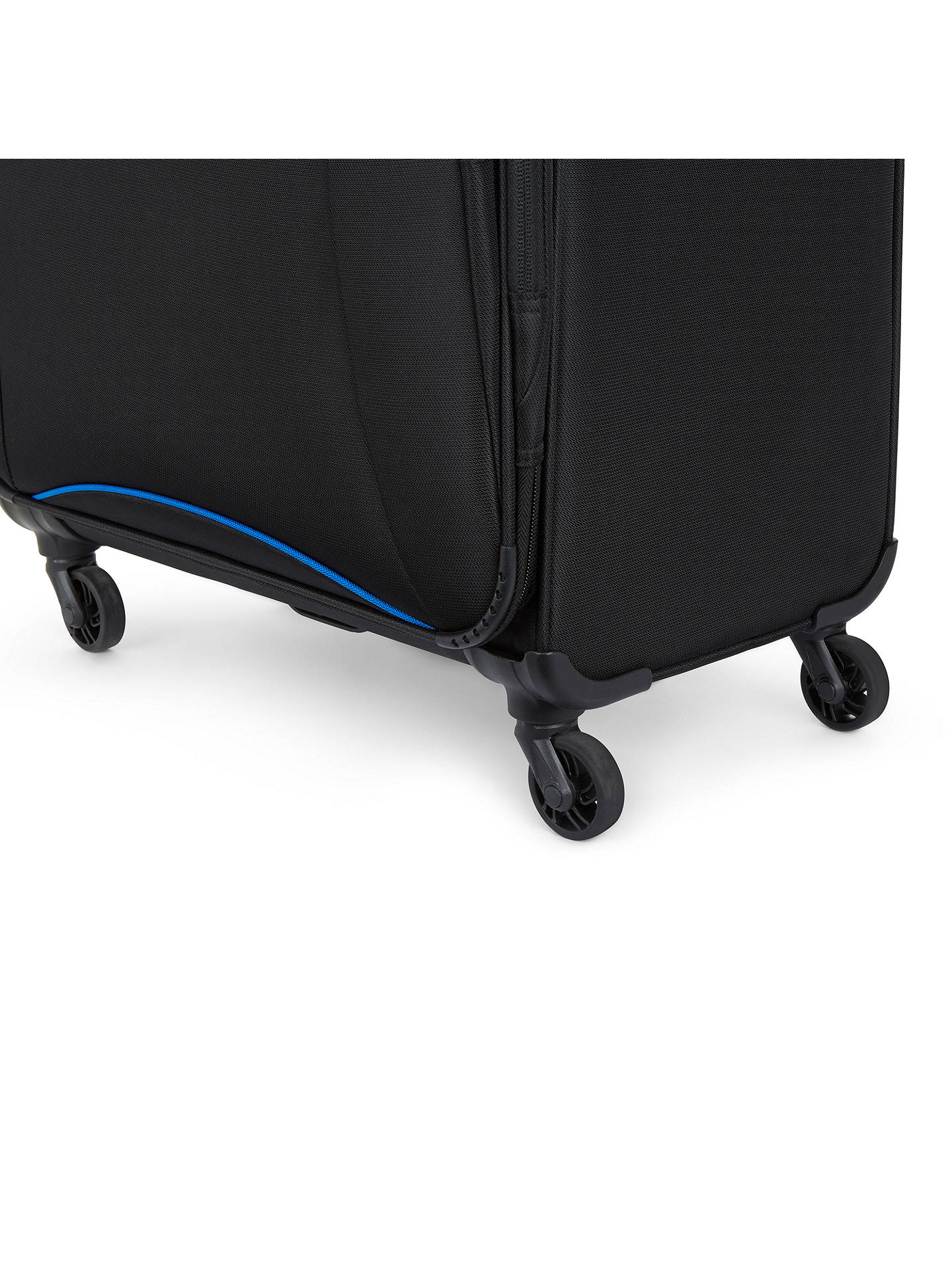 Buy Antler Zeolite 78cm 4-Wheel Large Suitcase, Black Online at johnlewis.com