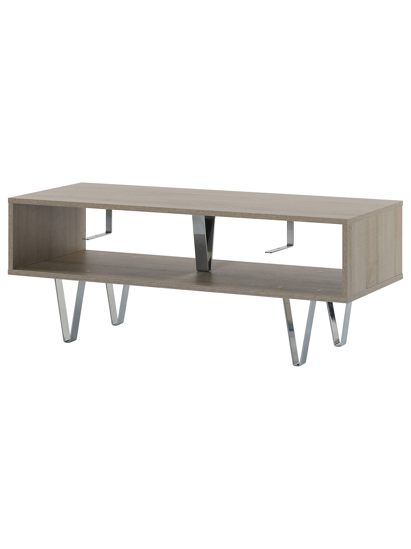 Off The Wall Chevron 1100 Stand For Tvs Up To 55 Oak Online