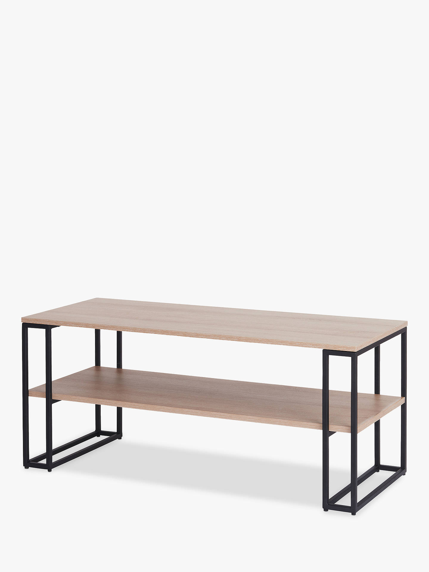 Off The Wall Cube 1100 Stand For Tvs Up To 55 Oak Online