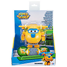 Buy Super Wings Transforming Donnie Online at johnlewis.com