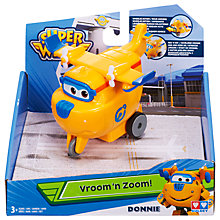 Buy Super Wings Vroom N Zoom Donnie Online at johnlewis.com