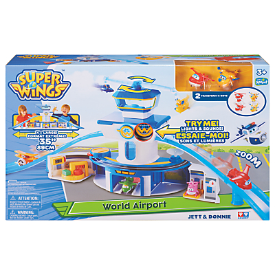 Super Wings World Airport Jet & Donnie