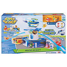Buy Super Wings World Airport Jet & Donnie Online at johnlewis.com