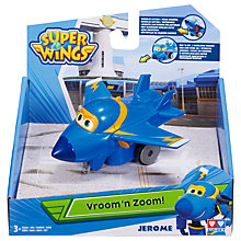 Buy Super Wings Vroom N Zoom Jerome Online at johnlewis.com