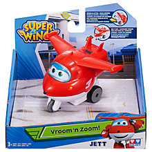 Buy Super Wings Vroom N Zoom Jett Online at johnlewis.com