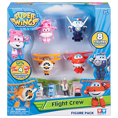 Super Wings World Airport Flight Crew