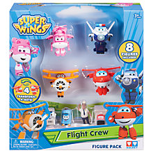 Buy Super Wings World Airport Flight Crew Online at johnlewis.com