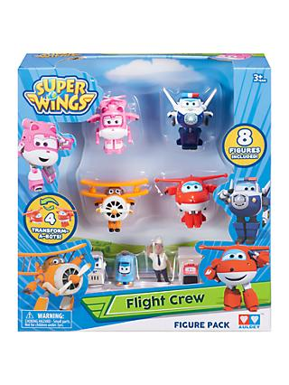 Super Wings World Airport Flight Crew 8-Figure Pack